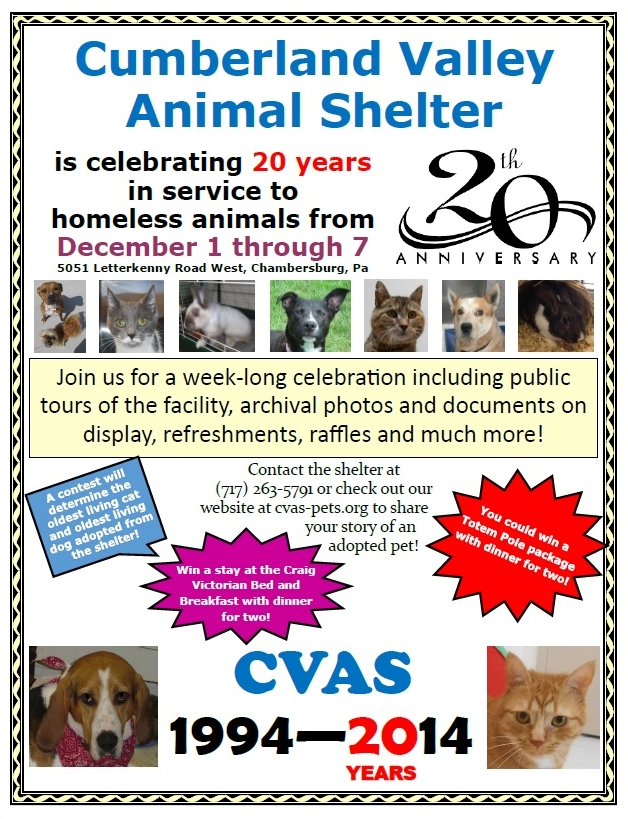 Cumberland Valley Animal Shelter